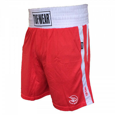 Tuf-Wear Red Boxing Club Shorts