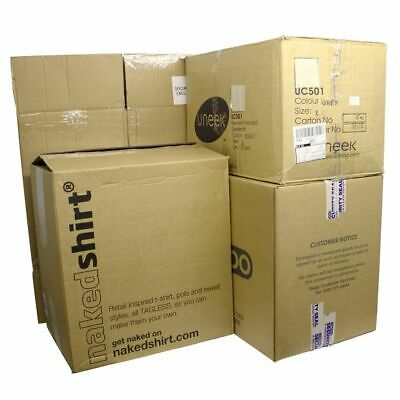 10 Large Strong Used Boxes Single & Double Wall Ideal for Moving Packing Storage