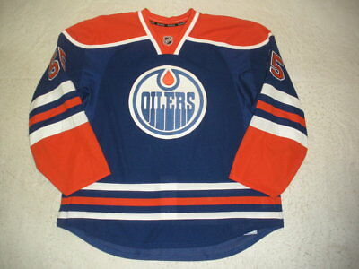 2012-13 Ben Eager Edmonton Oilers Game Issued Reebok Jersey!
