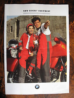BMW Riders Equipment Brochure 1991  19 Pages