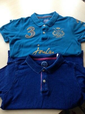 2 Joules Boys Age 9-10 Polo Shirts