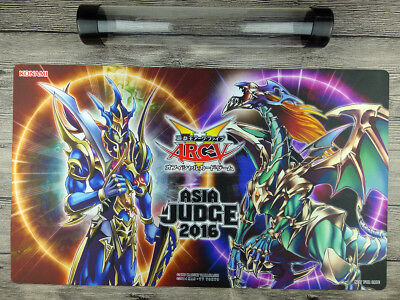 YuGiOh Black Luster Soldier 2016 JUDGE Playmat TCG Card Mat Free best Tube