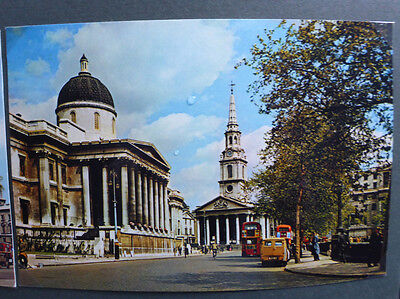 Vintage British Postcard - The National Gallery