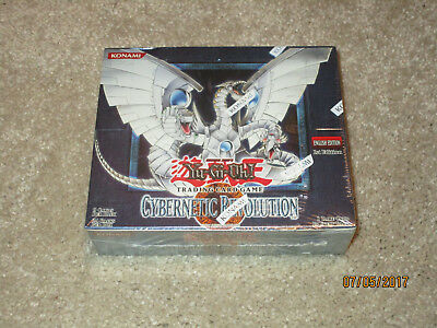 Yugioh Cybernetic Revolution Booster Box, Factory Sealed English 1st Edition NR!