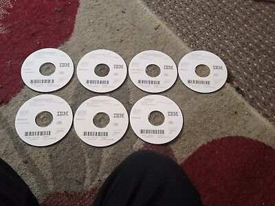 Set IBM AS/400/iSeries Advanced Entry Software in Good Condition 7 CDs in Total