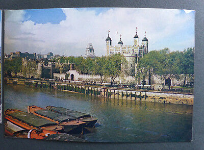 Vintage British Postcard - Tower Of London