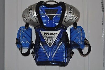 Childs Kids Thor Motocross Body Armour Suit Around 12 Years 5-7 Stones Motorcros