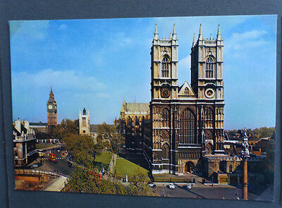 Vintage British Postcard - Westminster Abbey