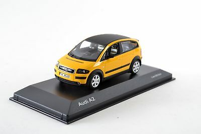 """AUDI A2, IMOLA YELLOW, 1: 43'' Limited to 500 Pieces """""""