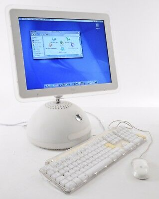 "Apple Macintosh iMac G4 15"" Dome 800MHz PowerPC 512MB RAM 60GB HD White"