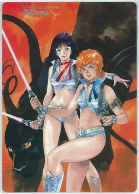 Dirty Pair Japan Anime Sf Shitajiki Underlay Kate E July Dan Et Danny B