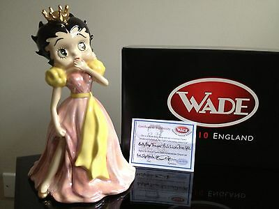 Rare Wade Special Betty Boop Pink Lustre 9 Inch Princess Limited Edition 20