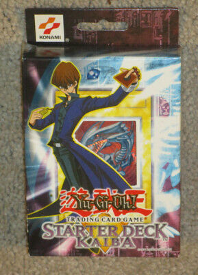 Yugioh: Starter Deck Kaiba New Factory Sealed Mint Condition No Reserve!!!!!!!!!