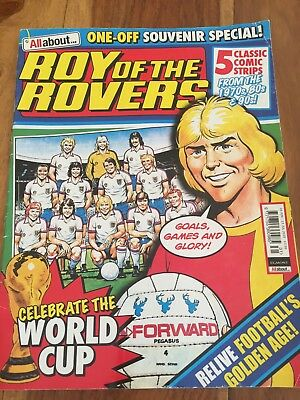 Roy Of The Rovers Magazine - Souvenir Special