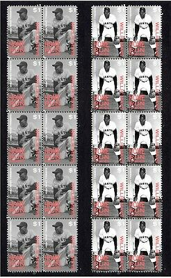 Willie Mays San Francisco Giants H/run Heroes Stamps 1