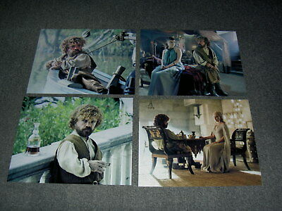 SET OF FOUR GAME OF THRONES 10 x 8 PHOTO'S,BARGAIN LOT,Peter Dinklage.73