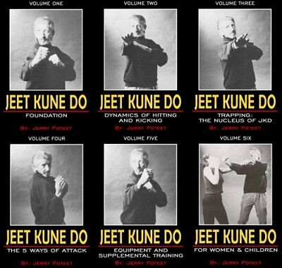 Jeet Kune Do 6 DVD Set by Jerry Poteet – MMA Bruce Lee JKD Jun Fan Wing Chun