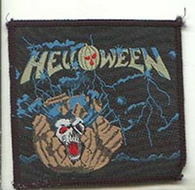HELLOWEEN sew on patch from 1990s  - UK import