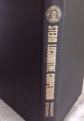 SOUTHERN PACIFIC STEAM LOCOMOTIVE COMPENDIUM -- (NEW & Out of Print)