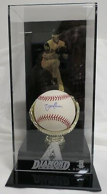 Randy Johnson Signed Authentic Autographed Baseball w/Display Case TRISTAR