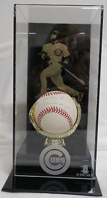 Sammy Sosa Signed/Insc. Authentic Autographed Baseball w/Display (MM)