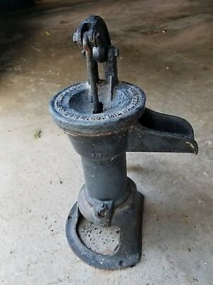 Antique John Pritzlaff Hardware Co. Hand Well Water Pump,Milwaukee, WI.
