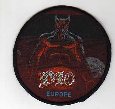 """Hard Rock (BLACK SABBATH )  DIO  """"EUROPE TOUR""""  SEW ON PATCH from 1990s"""