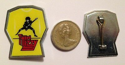 Hard Rock THIN LIZZY  / Phil LYNNOT Pin Brooch from 1990s