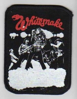 Hard Rock WHITESNAKE David COVERDALE sew on  PATCH from 1990s