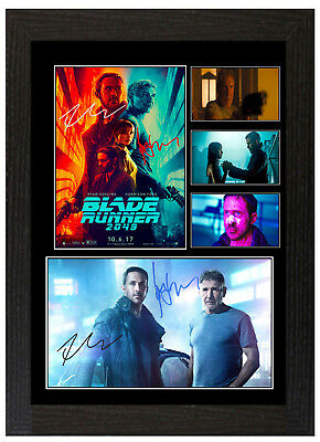 Blade Runner 2049 B Harrison Ford  - A3 Signed Framed Collectors Display