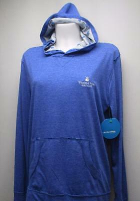New Ladies SMALL Levelwear lightweight blue hoodie Whistler Bear GC logo