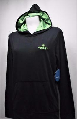 New Ladies SMALL Levelwear lightweight black hoodie Whistler Bear GC logo