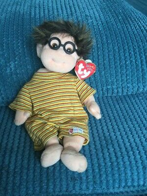 Ty Beanie Beany Kids Specs Soft Plush with full tag  vgc