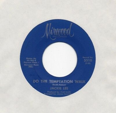 "Classic Northern Soul JACKIE LEE ""Do The Temptation Walk"" Mirwood"