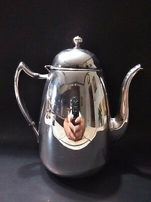 Vintage Antique FB Rogers Silver Company 1883 Tea Pot Silver on Copper