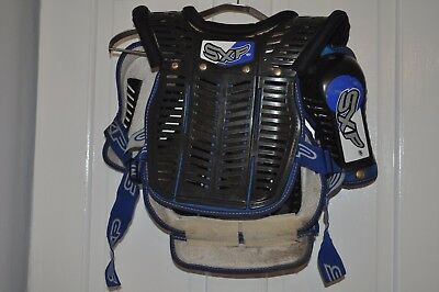 Childs Kids Sxp Motocross Body Armour Suit Around 12 Years Motorcross Mx
