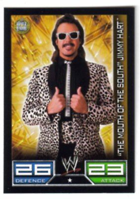 Carte Catch Slam Attax Hall of Fame : The Mouth of the South Jimmy Hart