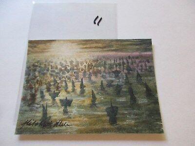 Game of Thrones Valyrian Steel Color Sketch Card by Mick and Matt Glebe - 11