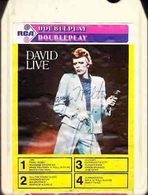 Bowie - David Live~8-Track Tape~Import~Double Play~DPT8 5013