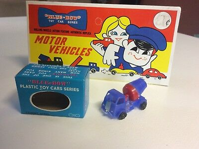 BLUE BOW (Blue Box) #26 CEMENT MIXER Lesney Matchbox Hong Kong Copies 1960's