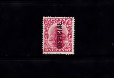 NZ 1908-9 1d CARMINE OFFICIAL SG.O70 MNH CV £70