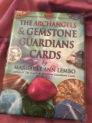 Gemstones Tarot Cards: The Archangels And Gemstone Guardian Cards