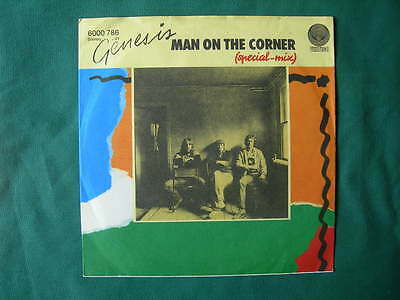 "Genesis-""man On The Corner"" Rare 7"" Germany First Pressing 1982 Mint- German"