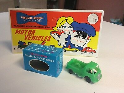 BLUE BOW (Blue Box) #60 MORRIS PICK-UP Lesney Matchbox Hong Kong Copies 1960's