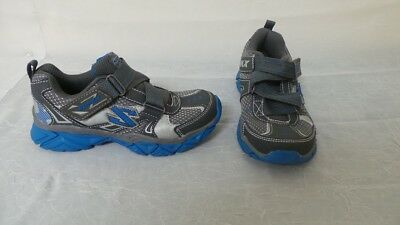 New Youth Skechers Triadz Athletic Shoes Style 95455L Blue/Gray 128u tr