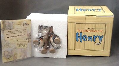 Country Artists Elephant Tuskers Henry & Friends - Pick Up a ...  (mint & Boxed)