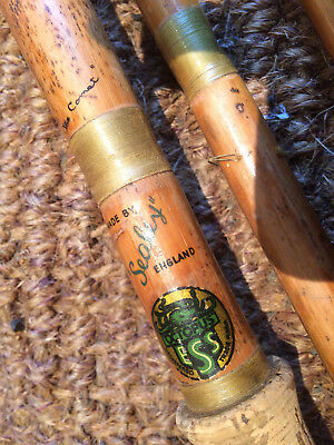 c1950 Sealey Octopus The Comet & Martin James Cane Coarse Fishing Rod 4 REFURB