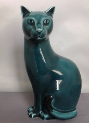 POOLE POTTERY CAT Marked R = Right Tail?