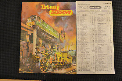 Triang Eleventh Edition Catalogue With Price List, 1965, Near Mint Condition