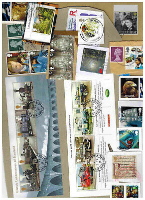 194g 6.8 OZ Kiloware UK ONLY High Commemorative Stamps and Souvenir-Sheets!